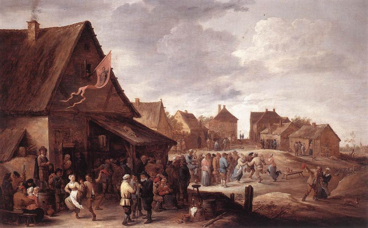 Village Feast - Adriaen van Ostade