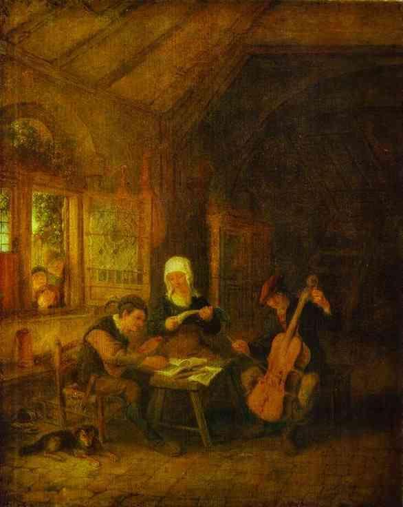 Village Musicians - Adriaen van Ostade