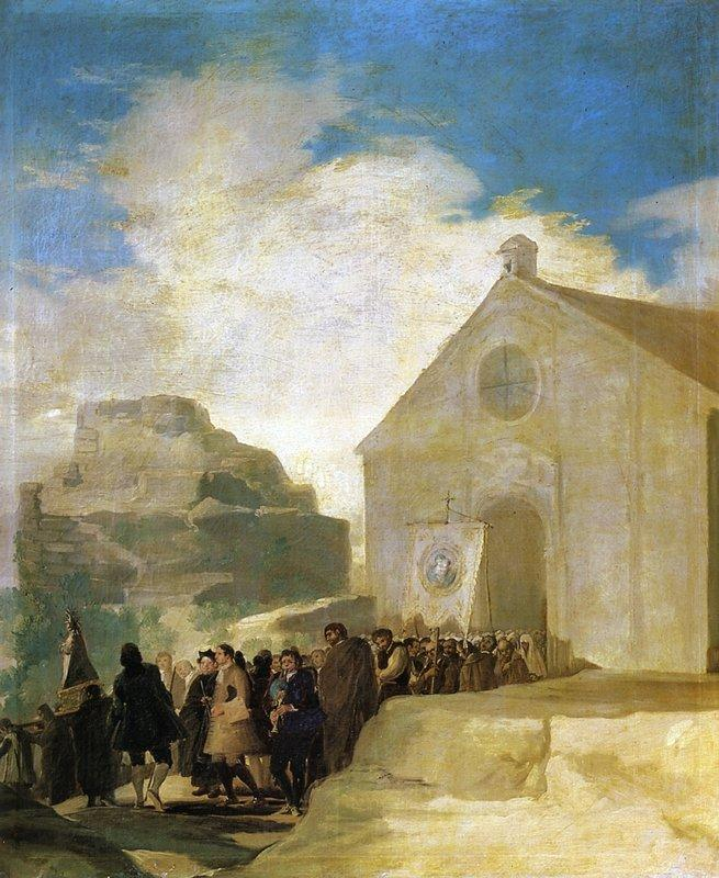 Village Procession - Francisco Goya