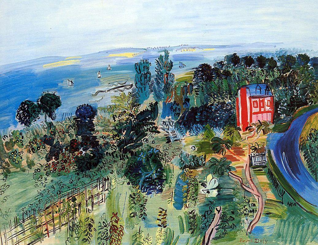 Villerville - Raoul Dufy