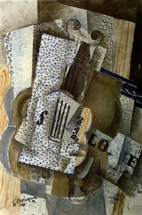 Violin Melodie  - Georges Braque
