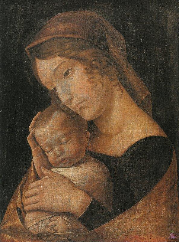 Virgin and Child - Andrea Mantegna