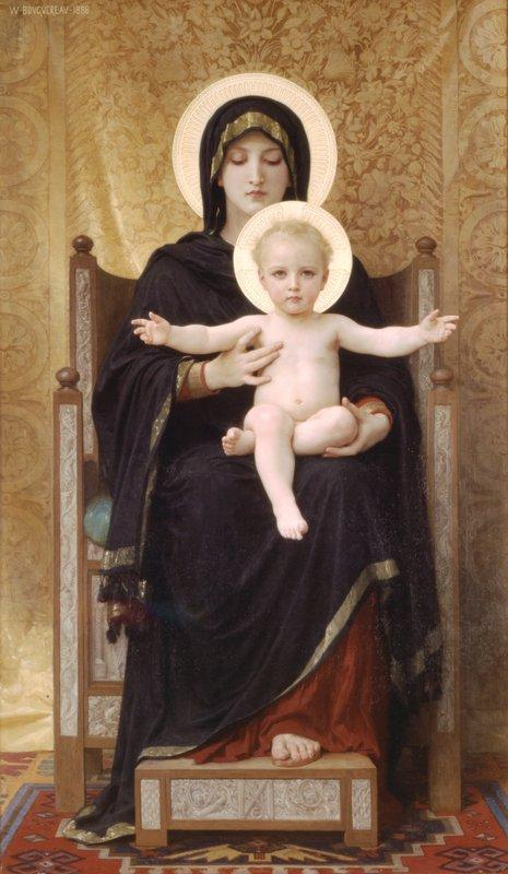 Virgin and Child - William-Adolphe Bouguereau