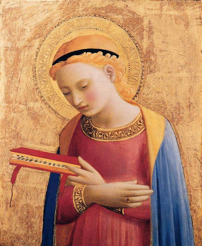 Virgin Mary Annunciate - Fra Angelico