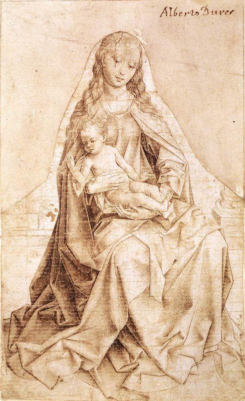 Virgin with the Blessing Child - Rogier van der Weyden