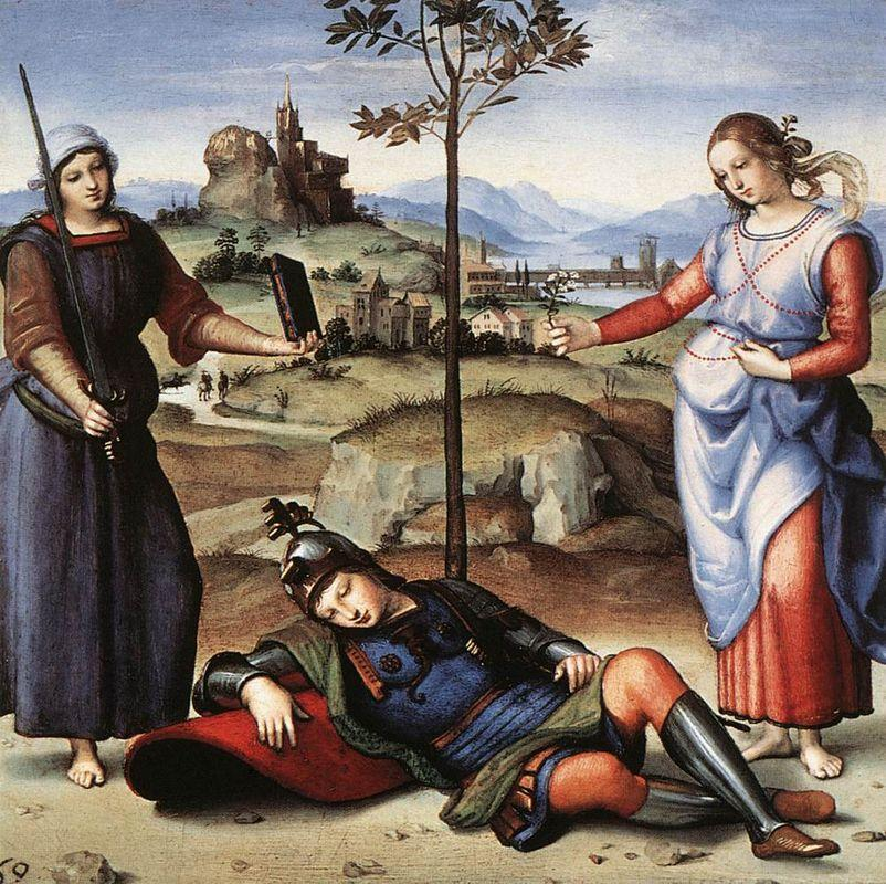 Vision of a Knight  - Raphael