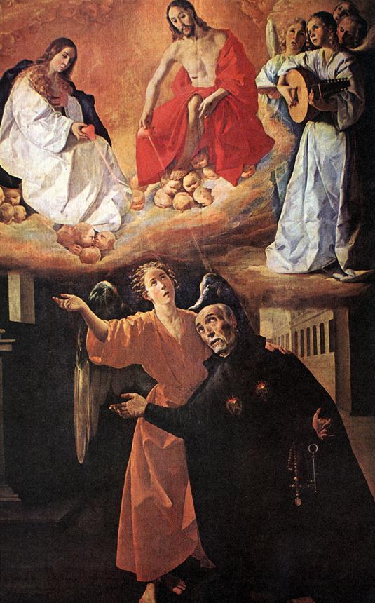 Vision of Blessed Alonso Rodriguez - Francisco de Zurbaran