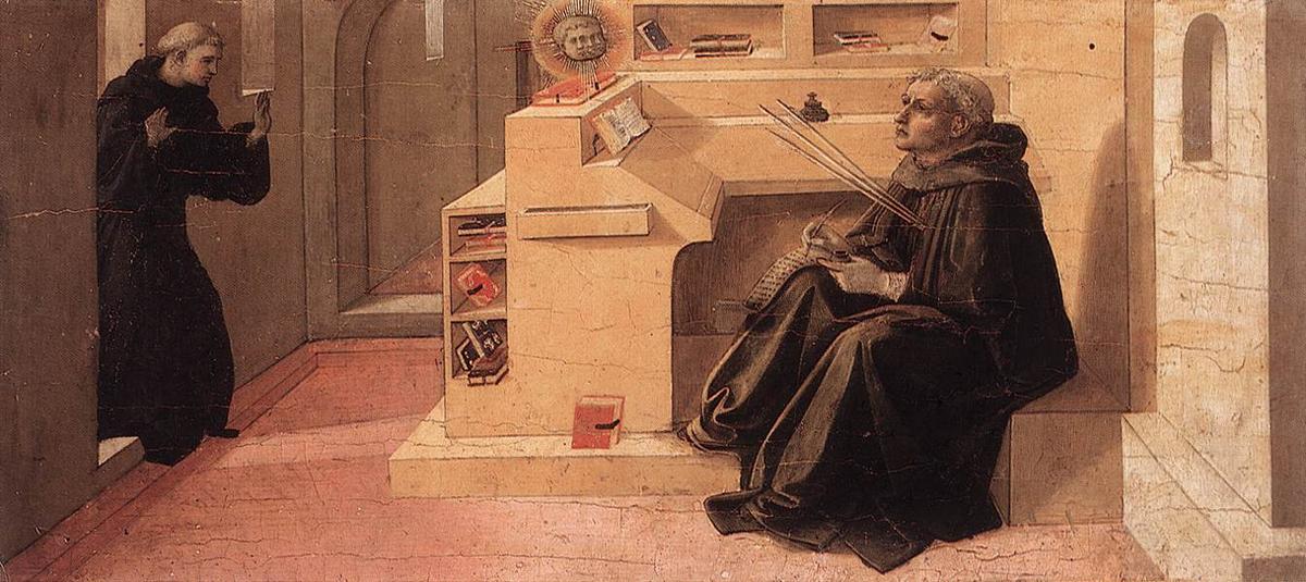 Vision of St. Augustine - Filippo Lippi