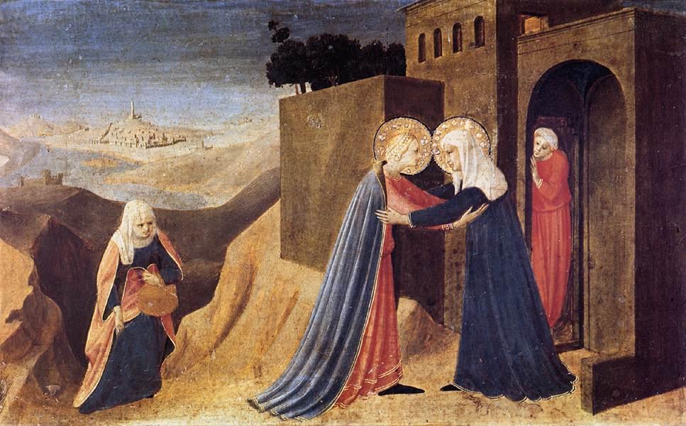Visitation - Fra Angelico