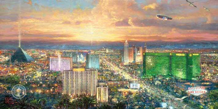 Viva Las Vegas - Thomas Kinkade
