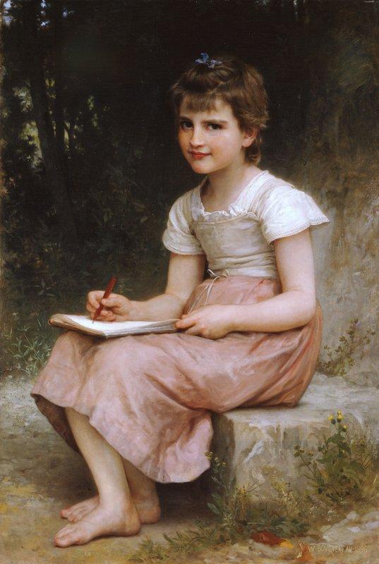 Vocation - William-Adolphe Bouguereau