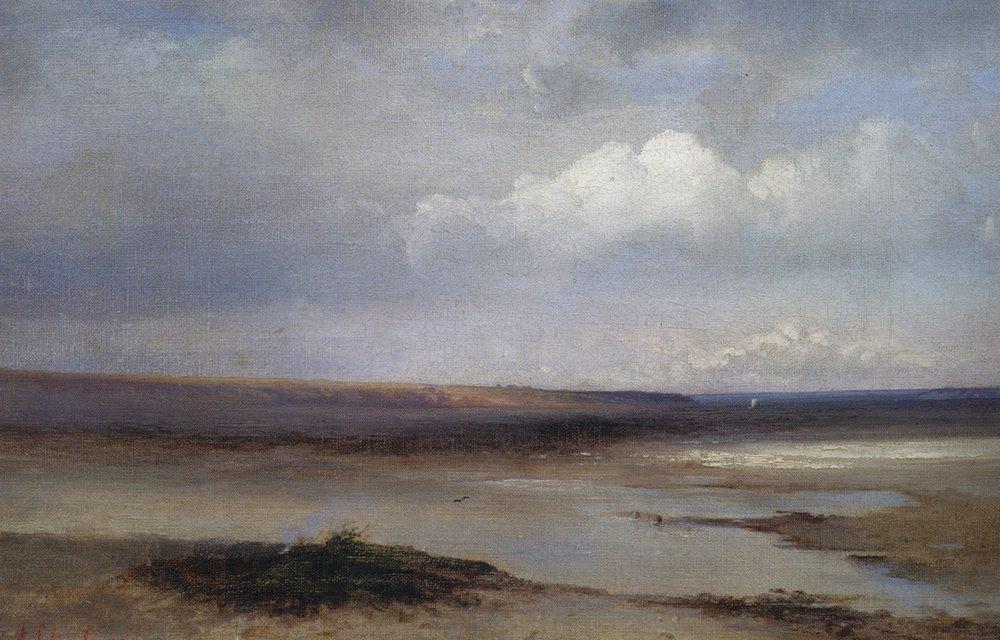 Volga - Aleksey Savrasov