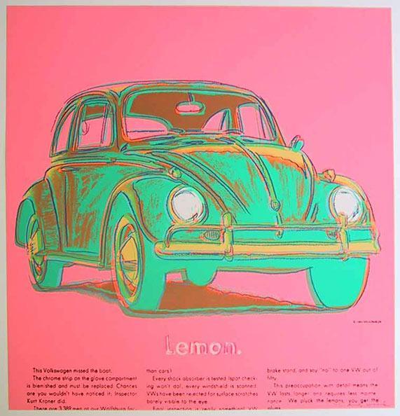Volkswagen - Andy Warhol