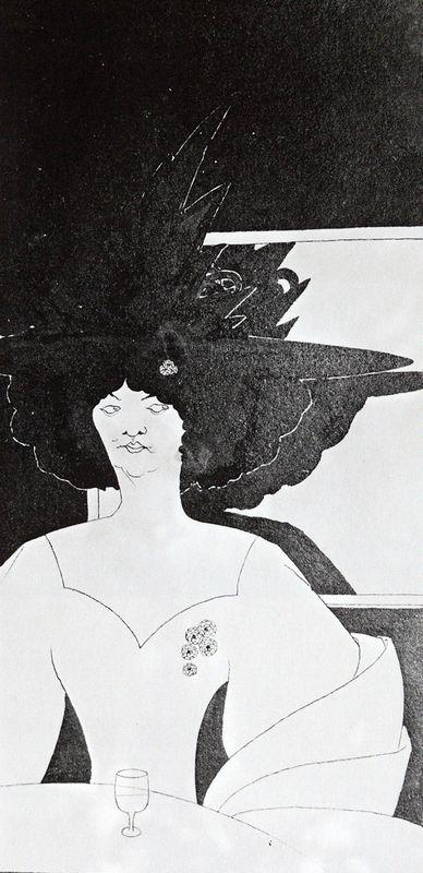 'Waiting' - Aubrey Beardsley