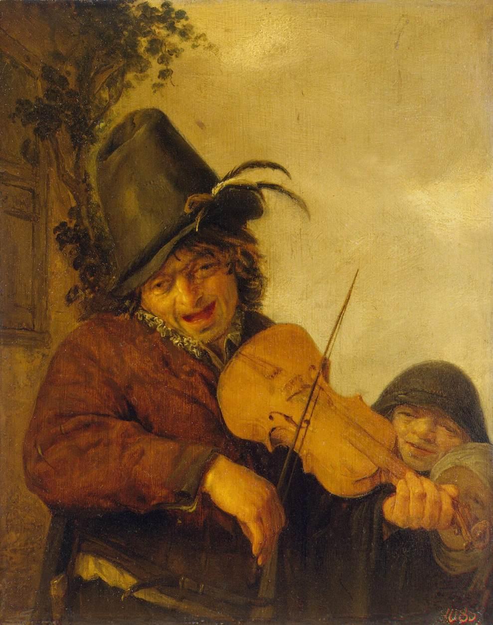 Wandering Musician - Adriaen van Ostade