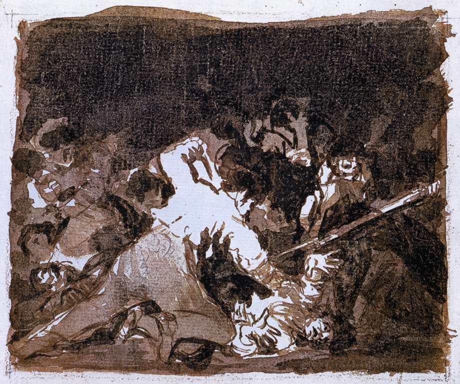 War scene - Francisco Goya