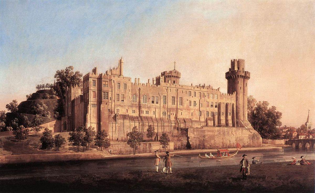 Warwick Castle - Canaletto