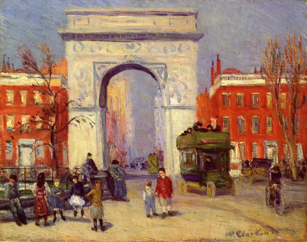 Washington Square Park - William James Glackens