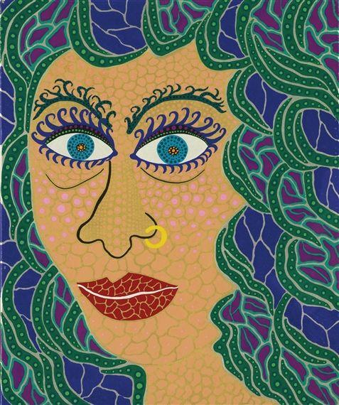 Watching the Sea - Yayoi Kusama