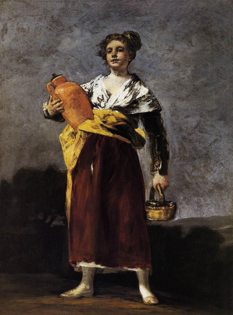 Water Carrier - Francisco Goya