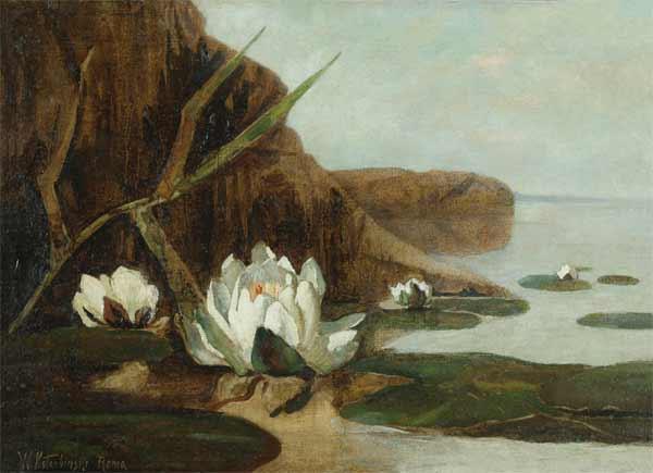 Water Lilies - Mikhail Vrubel