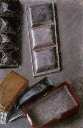Watercolour Boxes - Avigdor Arikha