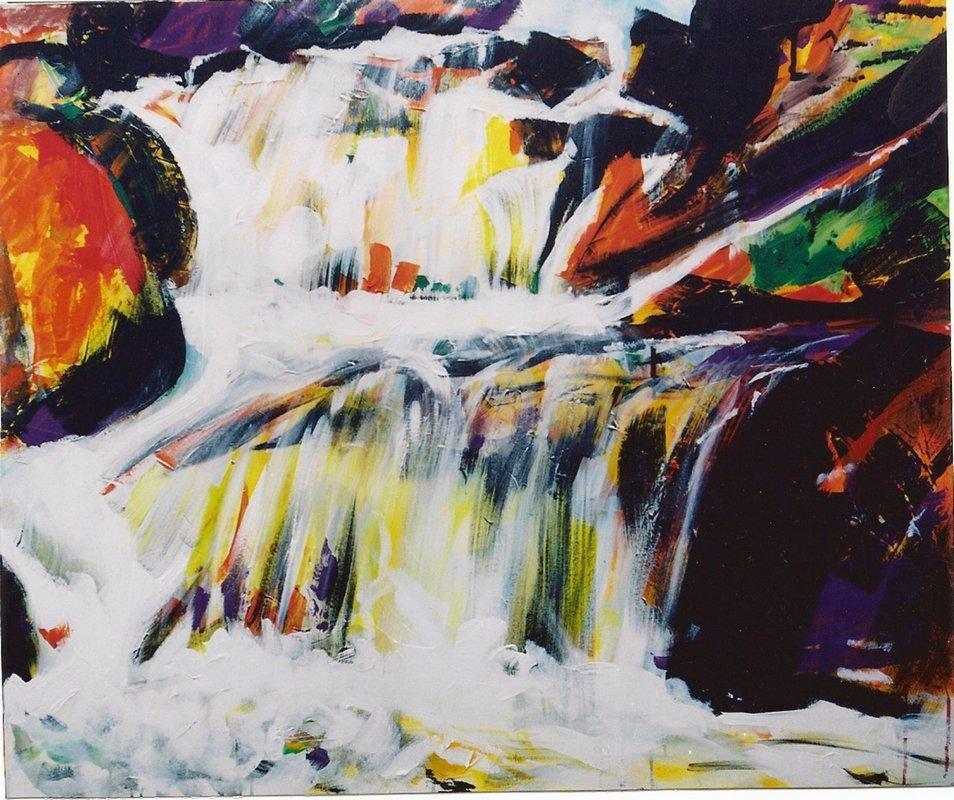 Waterfall III - Romul Nutiu