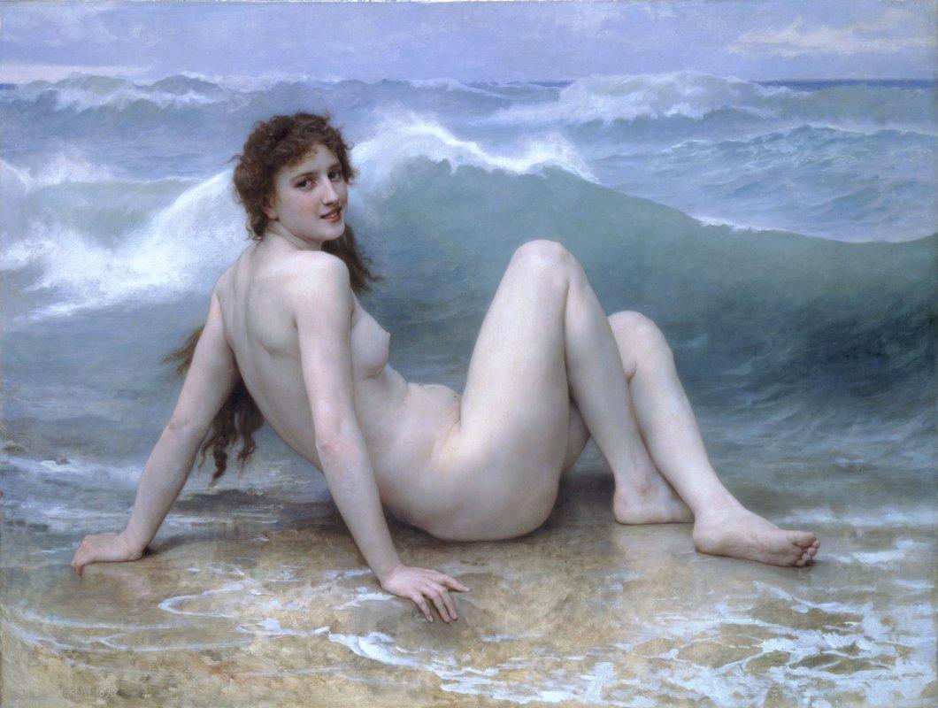 Wave - William-Adolphe Bouguereau