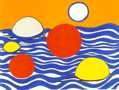 Waves  - Alexander Calder
