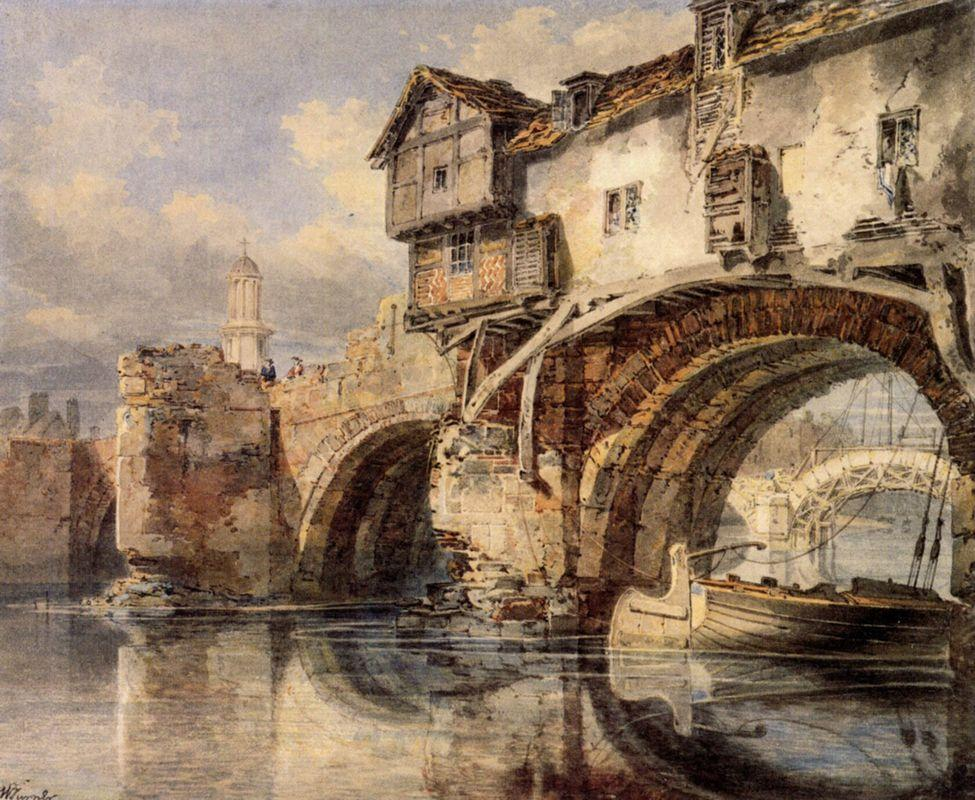 Welsh Bridge at Shrewsbury - William Turner