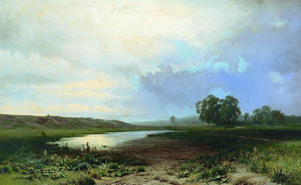 Wet Meadow - Fyodor Vasilyev
