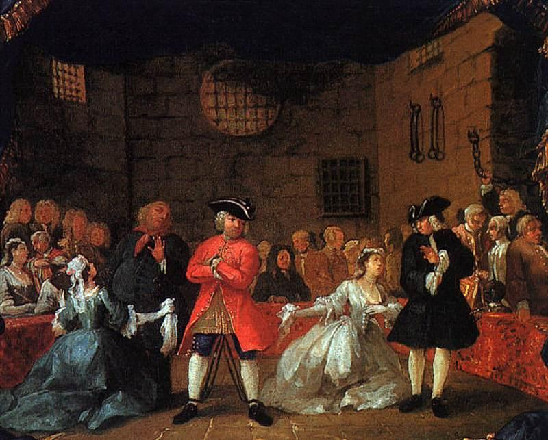 A Scene from the Beggar's Opera - William Hogarth