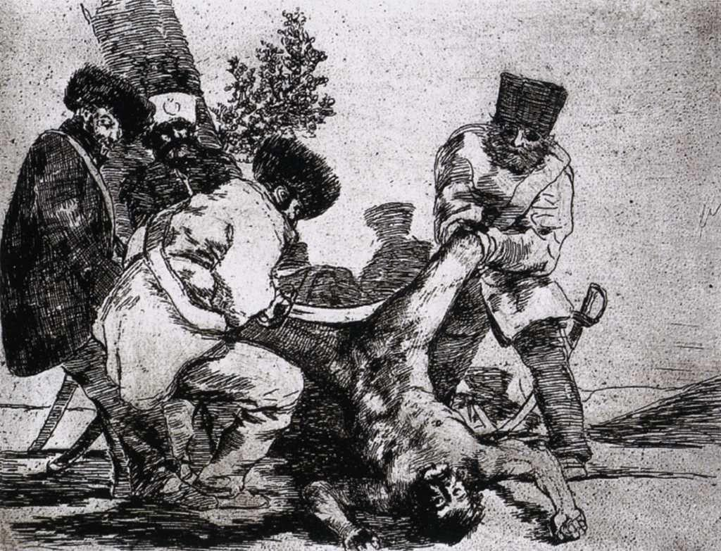 What more can one do? - Francisco Goya