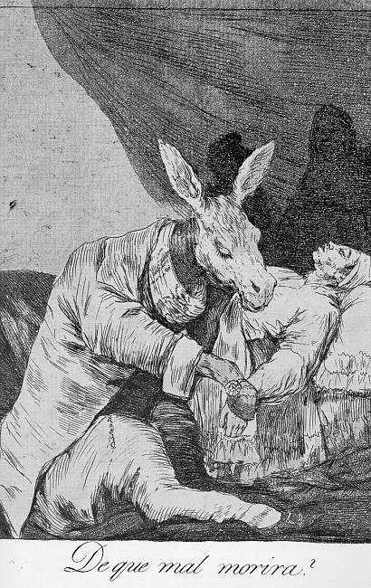 What Will he Die? - Francisco Goya