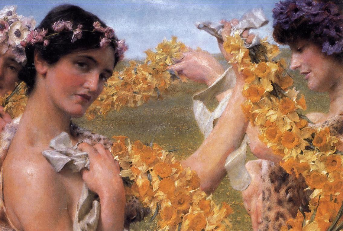 When Flowers Return - Sir Lawrence Alma-Tadema