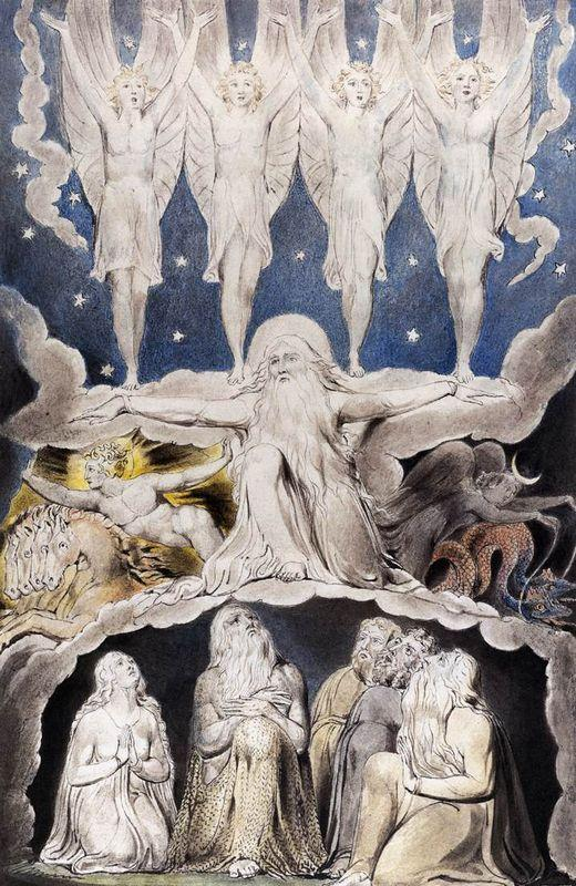 When the Morning Stars Sang Together - William Blake