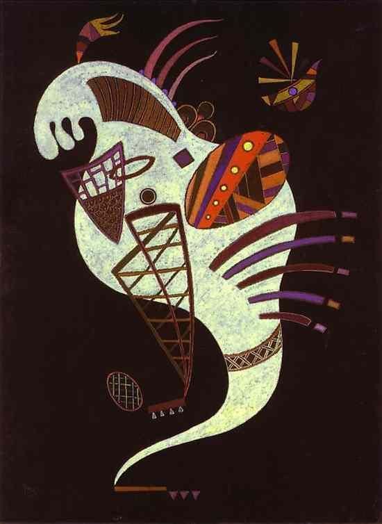 White figure -  Wassily Kandinsky