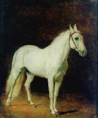 White horse. Study.  - Alexander Ivanov