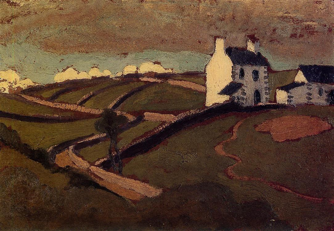 White House at Audierne - Roger de La Fresnaye