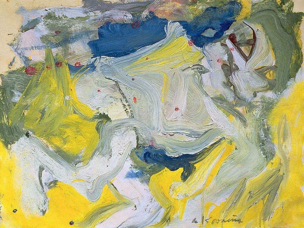 White Nude - Willem de Kooning