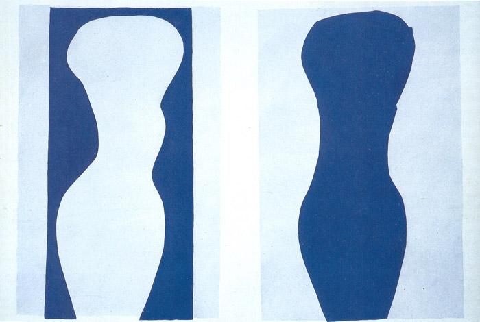White Torso and Blue Torso - Henri Matisse