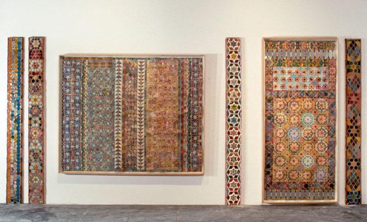 Whitney Biennial Installation - Joyce Kozloff