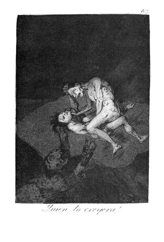 Who could believe it! - Francisco Goya