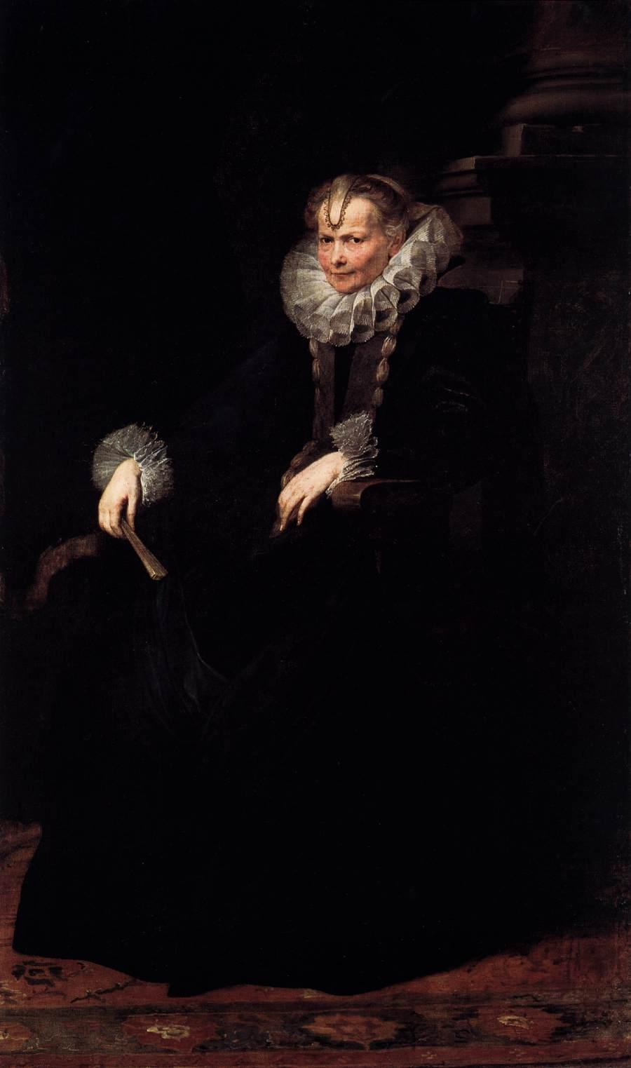 Wife of an Aristocratic Genoese - Anthony van Dyck