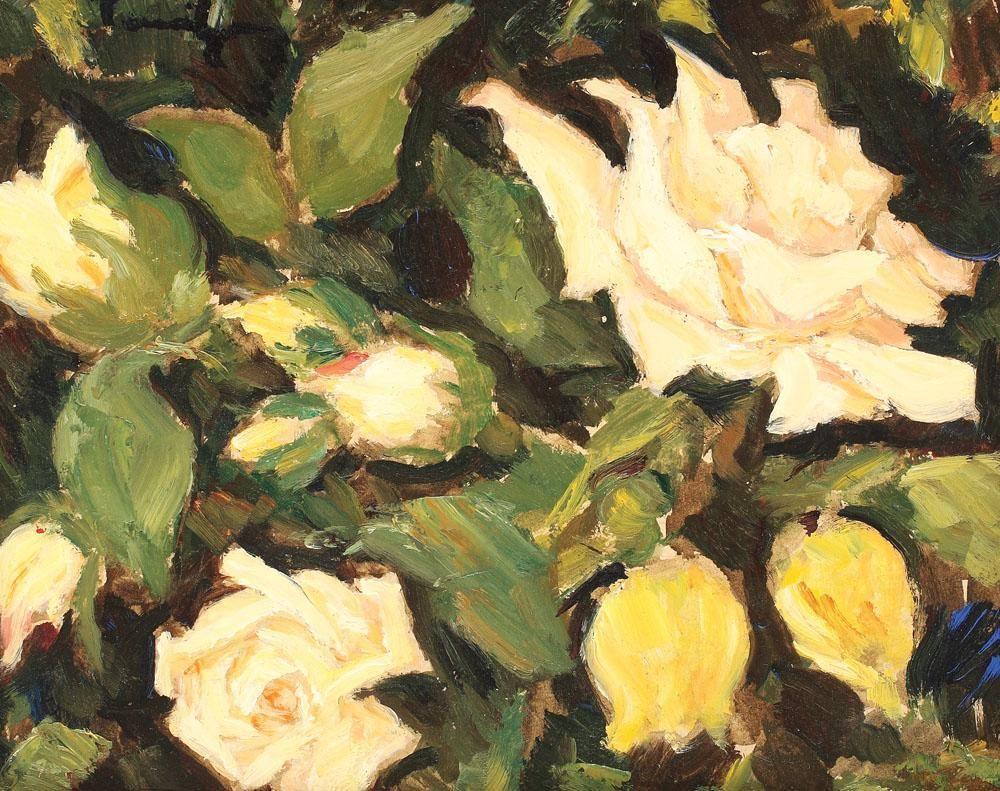 Wild Roses - Nicolae Tonitza