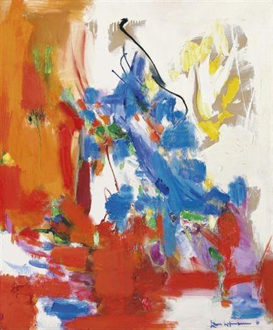 Wild Vine - Hans Hofmann