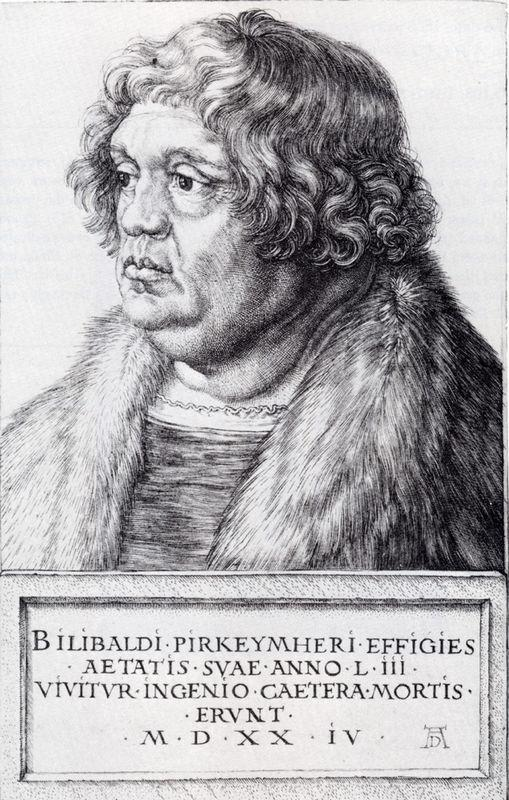 Willibald Pirckheimer - Albrecht Durer