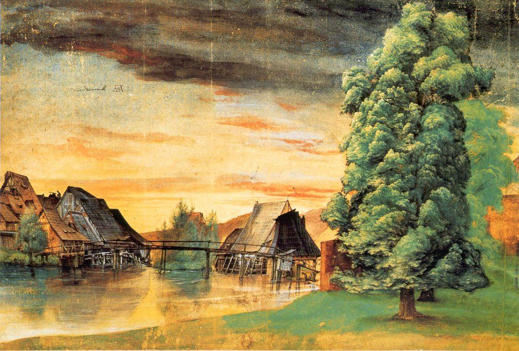 Willow Mill - Albrecht Durer