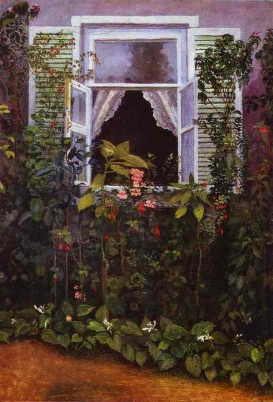Window - Victor Borisov-Musatov