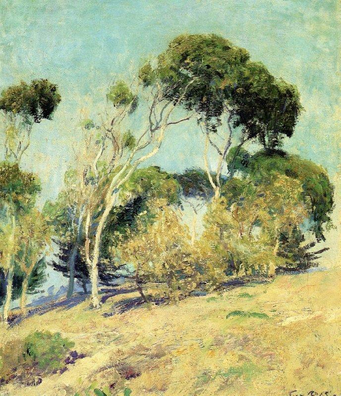 Windswept Trees, Laguna - Guy Rose